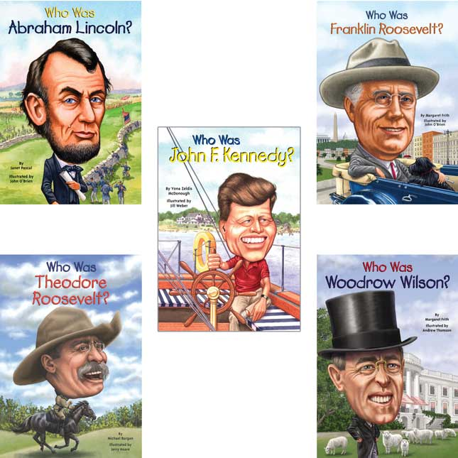 Who Was/Is...? U.S. Presidents - 10 Books
