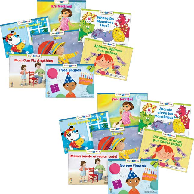 Learn To Read Spanish And English Variety Pack - 96 Books