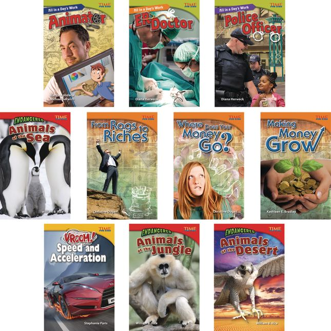 Time for Kids® Informational Text - 30 Books - Grade 5