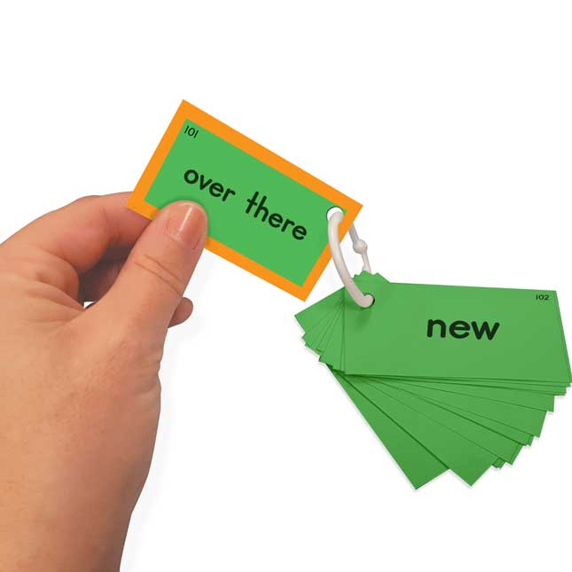 EZread™ Sight Word Mini Flash Cards: Fry 101-150