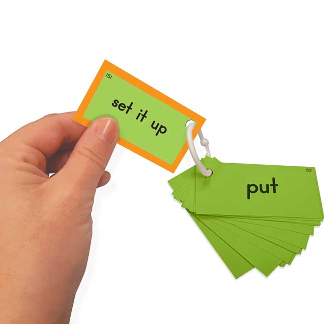 EZread™ Sight Word Mini Flash Cards: Fry 151-200