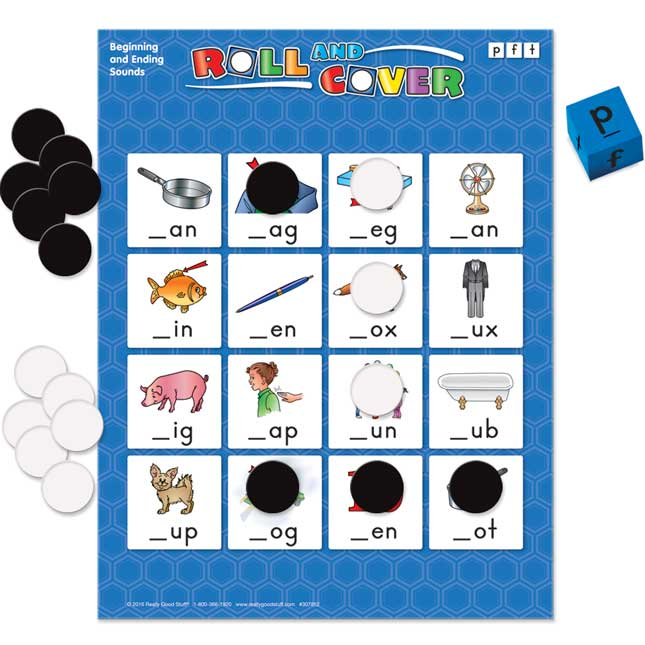 Roll And Cover Games: Beginning And Ending Sounds