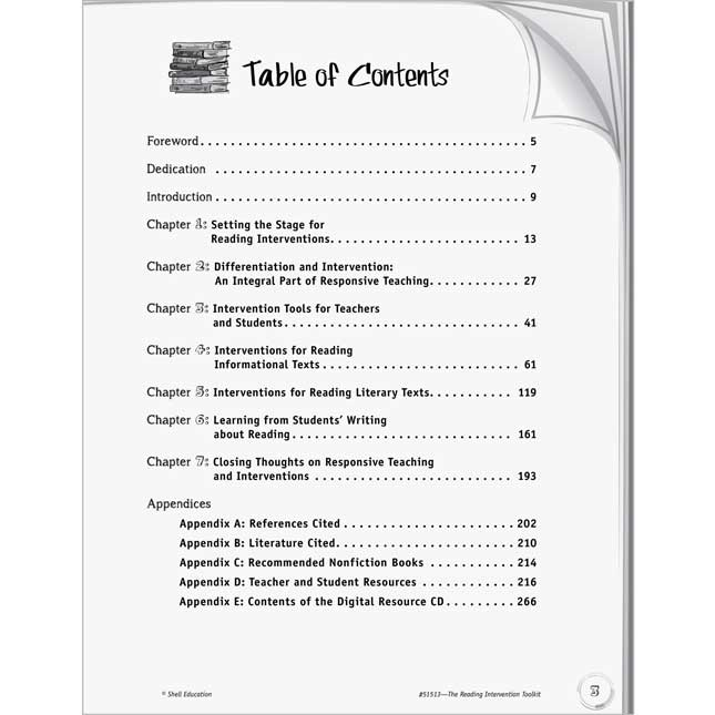 The Reading Intervention Toolkit Book And CD