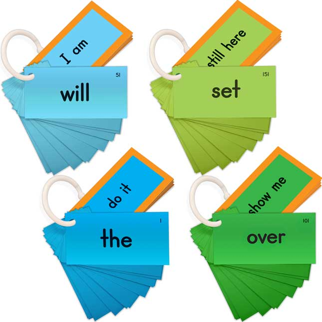 EZread™ Sight Word Mini Flash Cards: Fry Set