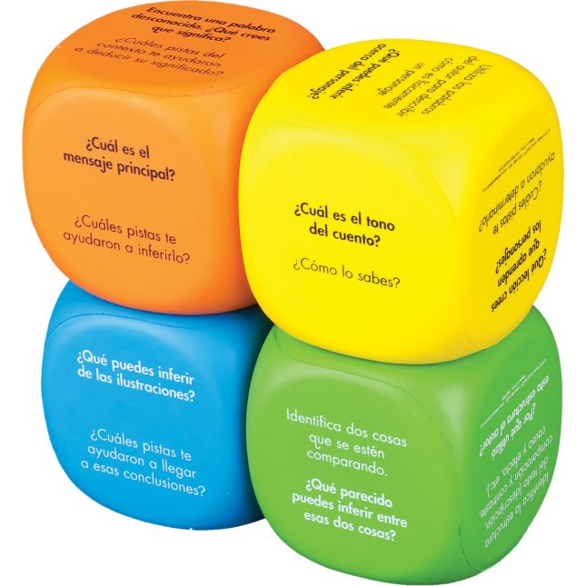 Cubos de inferencia (Spanish Inference Cubes) - 4 cubes