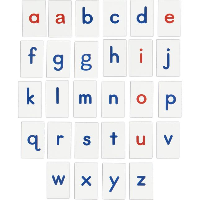 Vinyl Magnetic Letters With Alphabet Storage Case