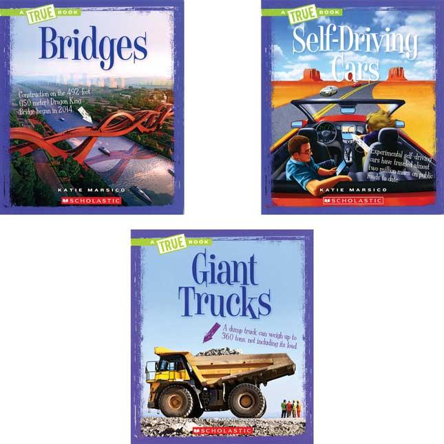 A True Book: Engineering Wonders - 6 Books