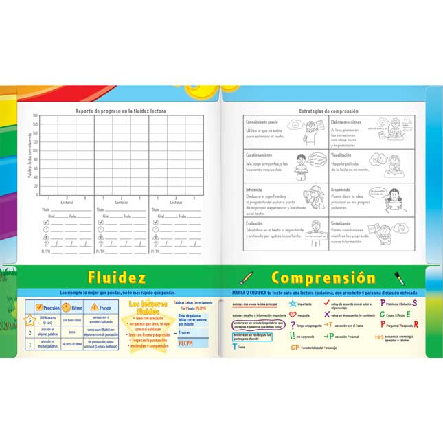 Fluidez y comprensión lectora - Grado 1 (Fluency For Comprehension Passages - Grade 1)