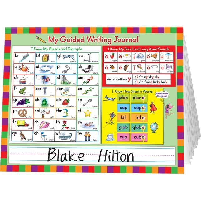 Guided Writing Journals: Early Reader