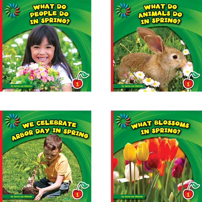 Let's Look At Spring 8-Book Set