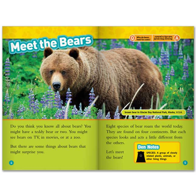National Geographic Kids Readers Level 3 - Set 2 - 10-Book Set