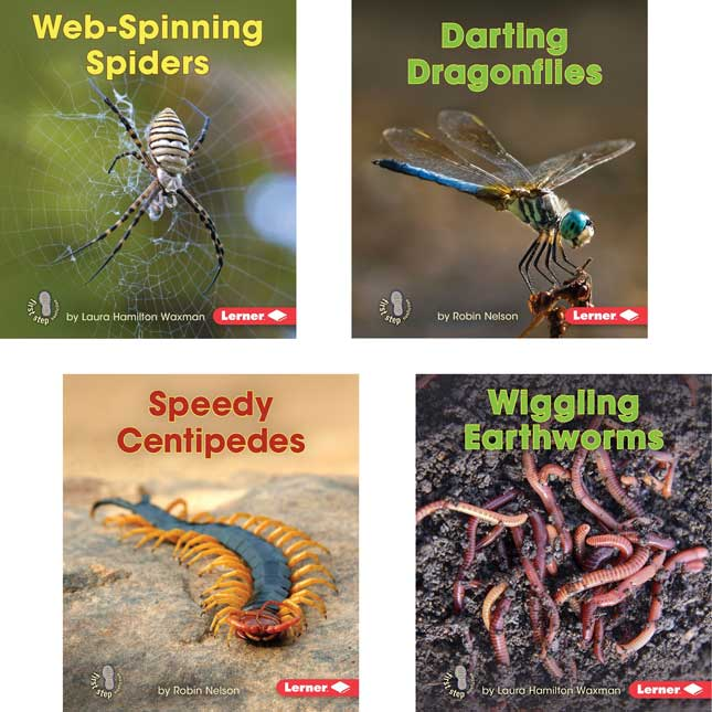 First Step Nonfiction: Backyard Critters 8-Book Set