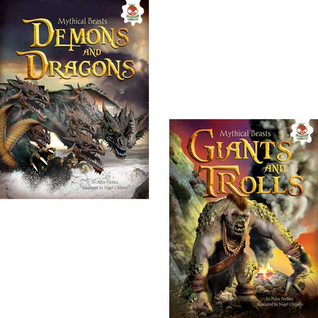 Mythical Beasts 4-Book Set