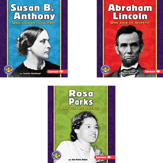 Libros Para Avanzar: Biografás (Pull Ahead Books: Biographies) 6-Book Set