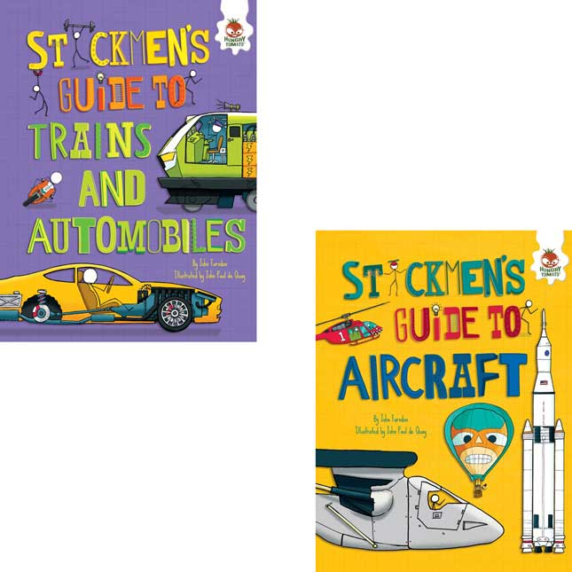 Stickmen's Guides To How Everything Works 4-Book Set