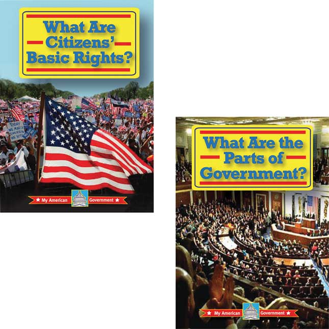 My American Government 4-Book Set