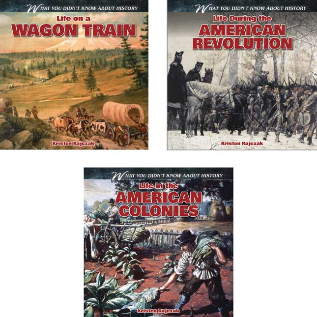 What You Didn't Know About History 6 Books - Set 1