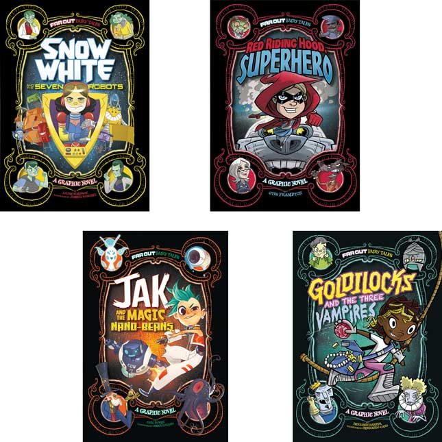 Far Out Fairy Tales 8-Book Set