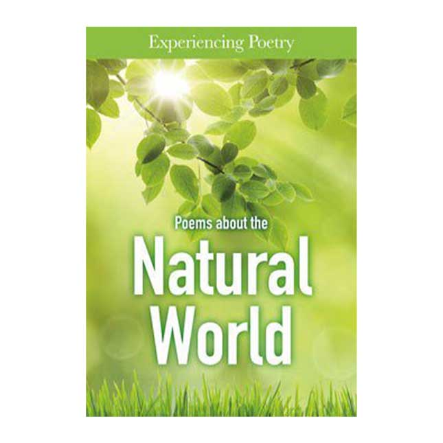 Poems About The Natural World - 1 hardcover book