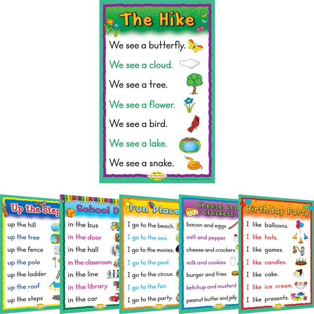 Sight Word Story Charts: Level A