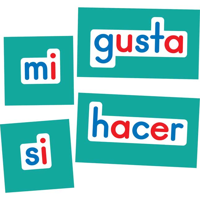 Spanish Magnetic High-Frequency Words Set 2