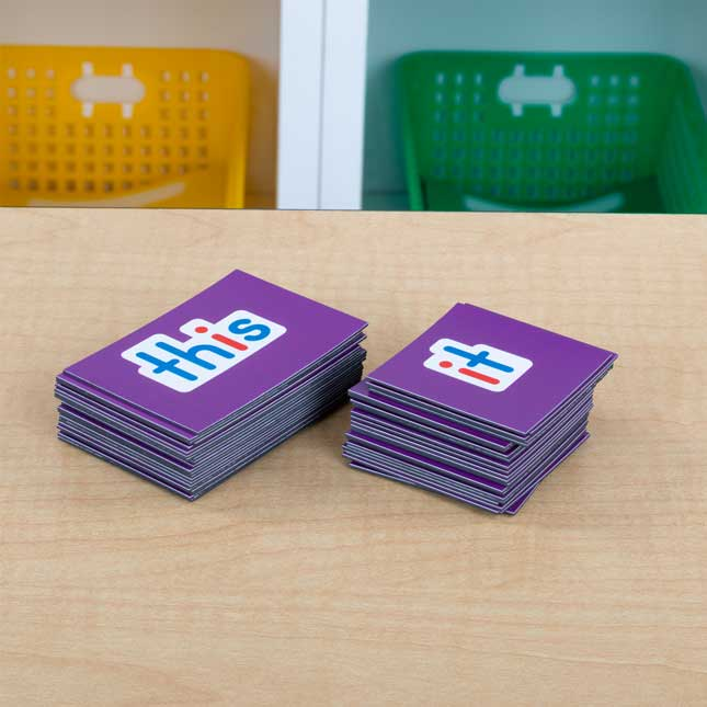 Magnetic Sight Words Set 2
