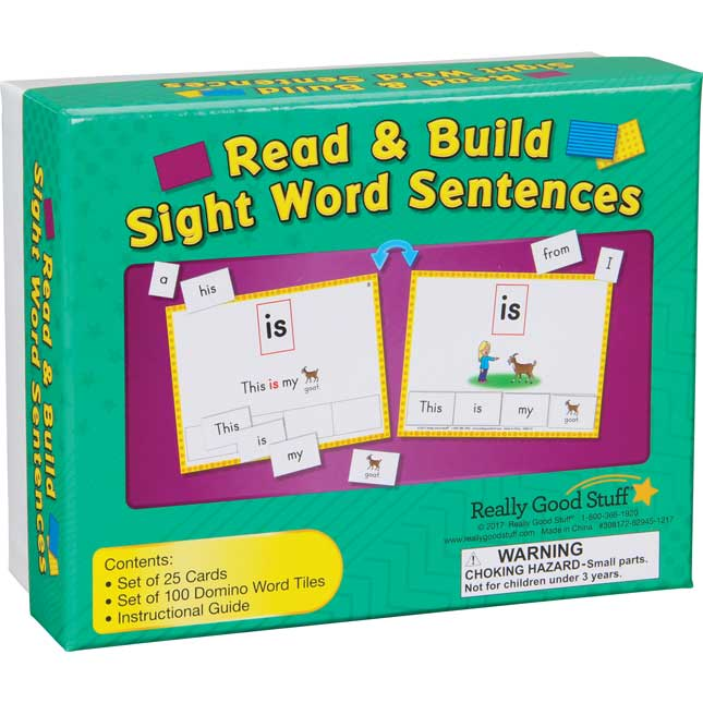 Read And Build Sight Word Sentences