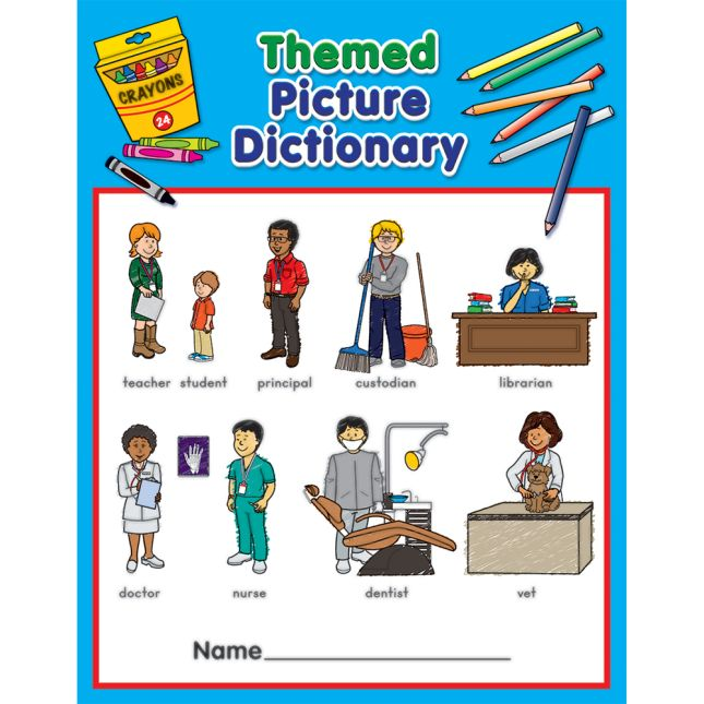 Themed Picture Dictionaries - 12 dictionaries