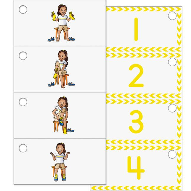 EZread™ Mini Flash Cards: Sequencing - 6 sets of flash cards