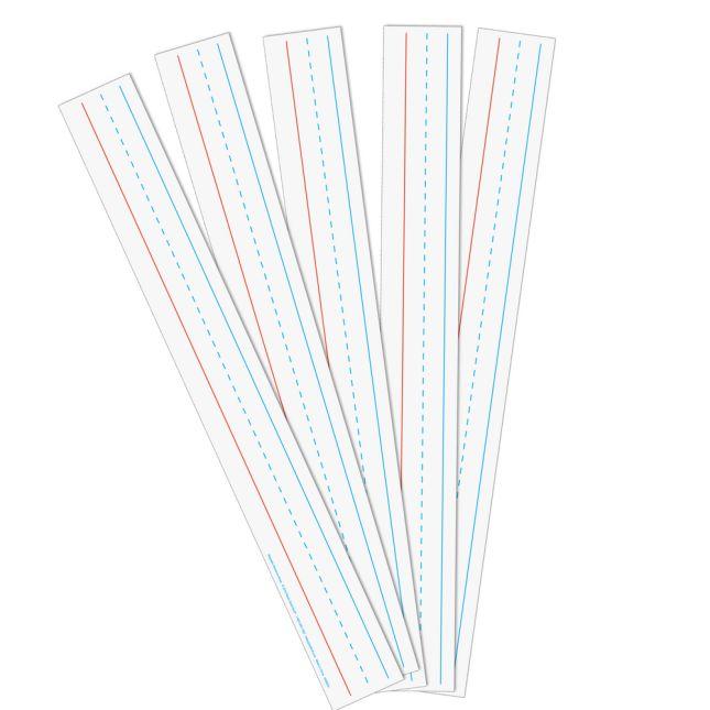 Magnetic Dry Erase Sentence Strips - 5 sentence strips