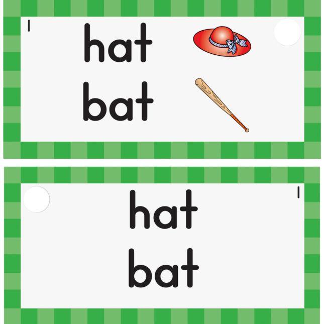 EZread™ Mini Flash Cards: Rhymes - 6 sets of flash cards