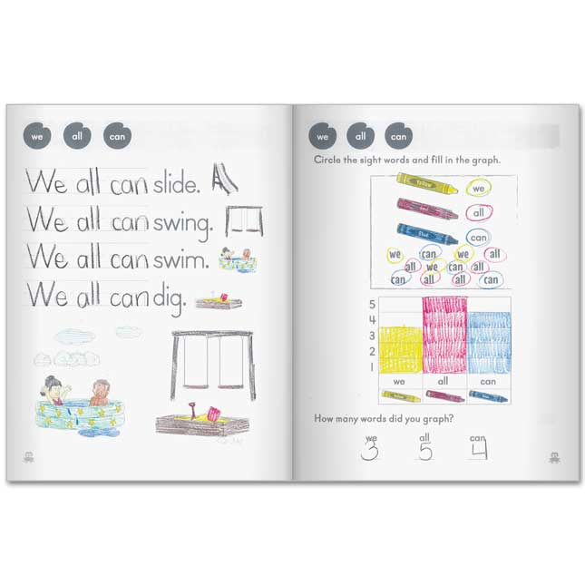 60+ Sight Words Activity Books - 12 activity books