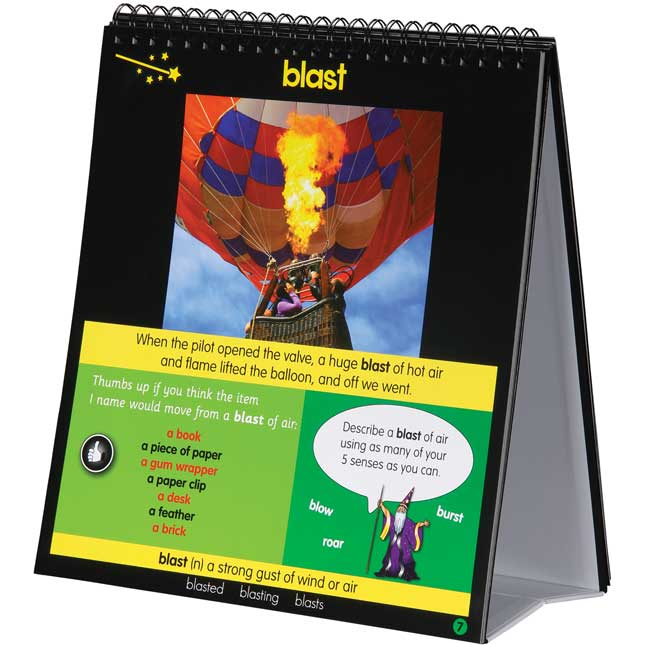 Word Wizard Flip Chart - 1 flip chart, 1 CD