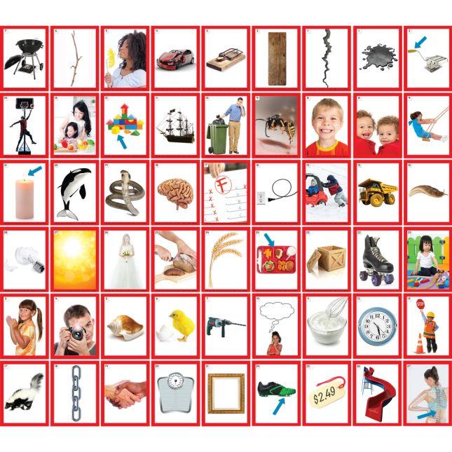 Blends & Digraphs Pocket Chart Card Set