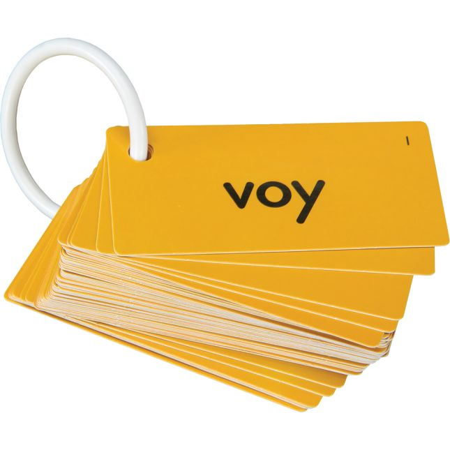 EZread™ Mini tarjetas de palabras de uso frecuente (juego de tarjetas anaranjadas) (Spanish High-Frequency Word Mini Flash Cards Orange Set)