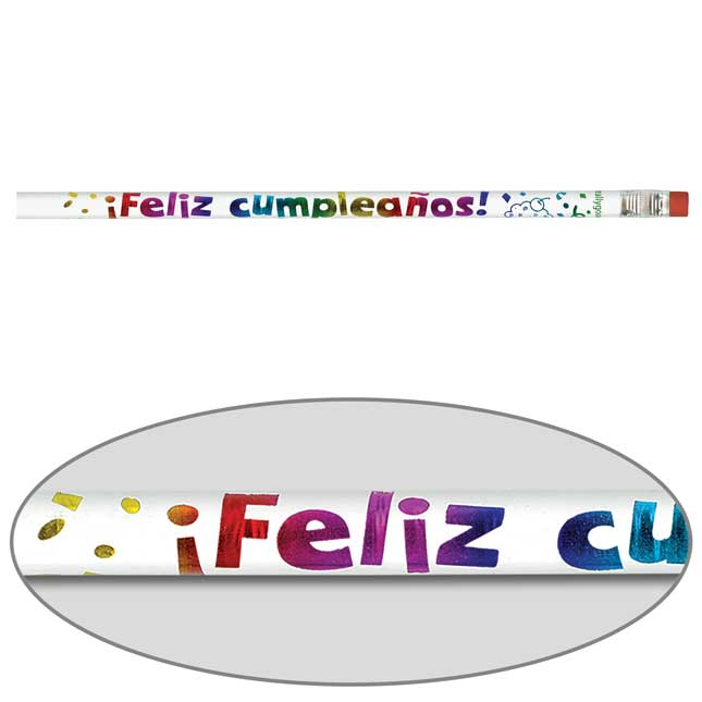 Feliz Cumpleaños Pencils (Happy Birthday Pencils)