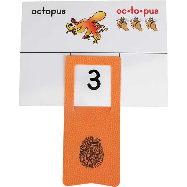 Syllable Cards And Clips