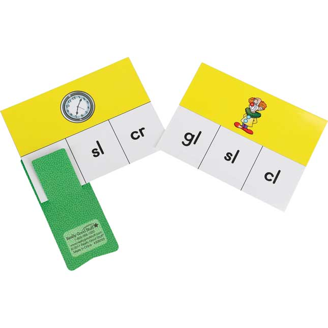 Blends And Digraphs Cards And Clips