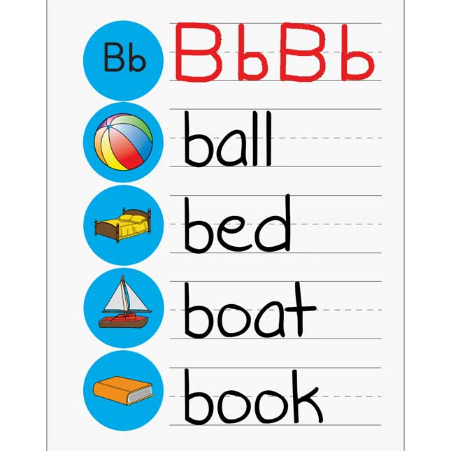 Alphabet Picture Stickers And ABC Sticker Books