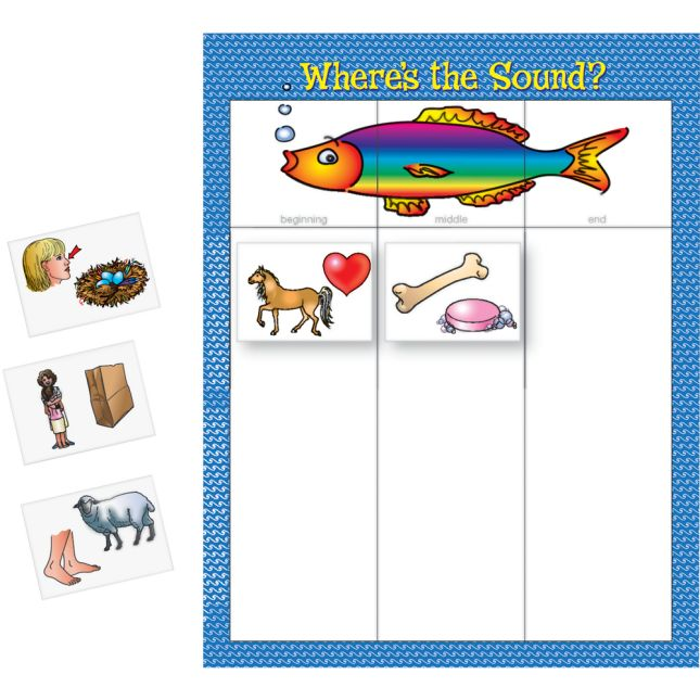 Where's The Sound? Literacy Center™