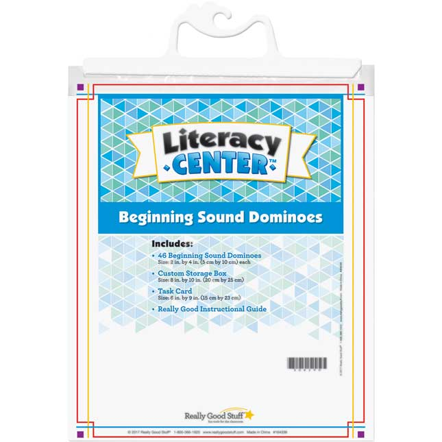 Beginning Sound Dominoes Literacy Center™