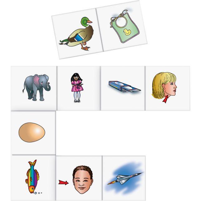 Beginning Sound Dominoes Literacy Center™ - 1 literacy center