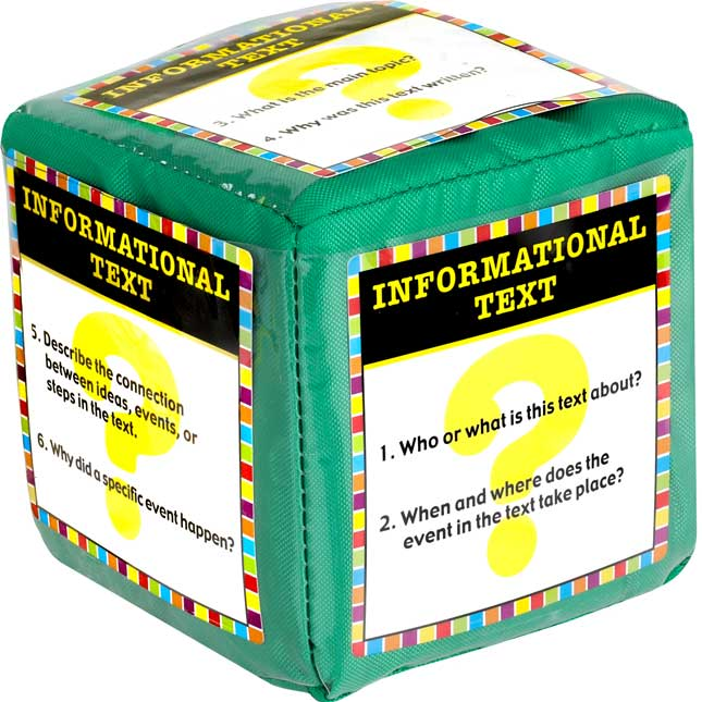 Start Smart Comprehension Activity Cards And Cubes Kit