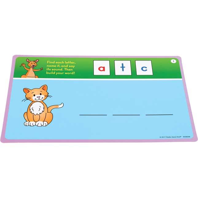 CVC Task Cards - 21 cards