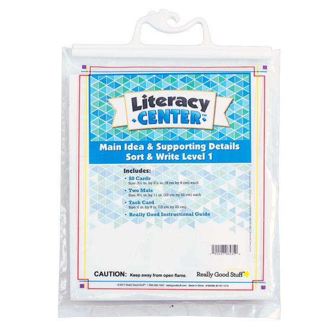Main Idea Markup Level 1 Literacy Center™