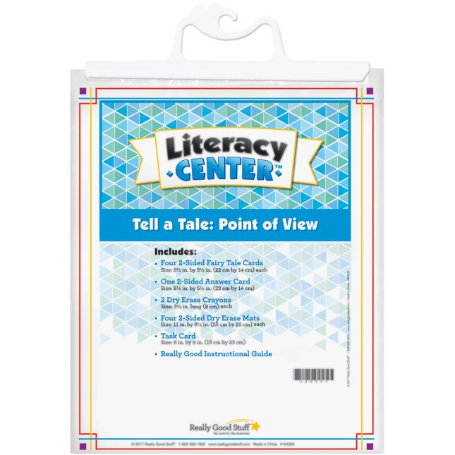 Tell A Tale: Point Of View Literacy Center - 1 literacy center
