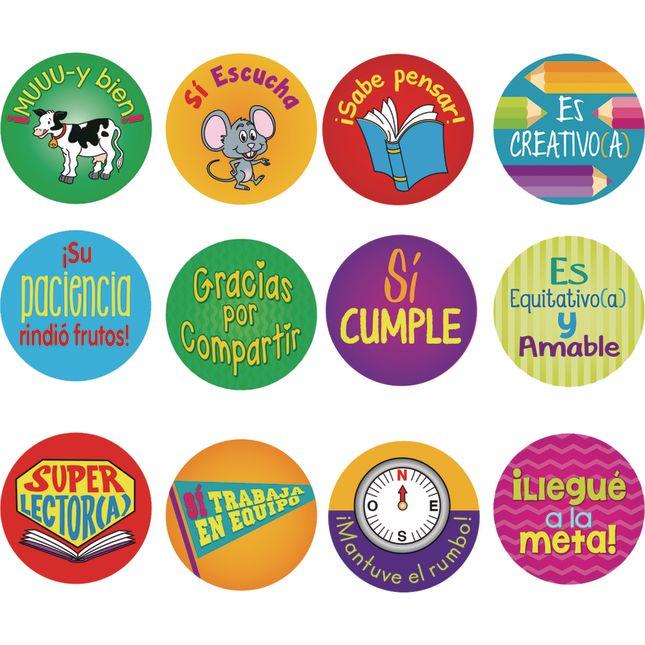 CalcomanÍas de recompensa (Spanish Reward Stickers)