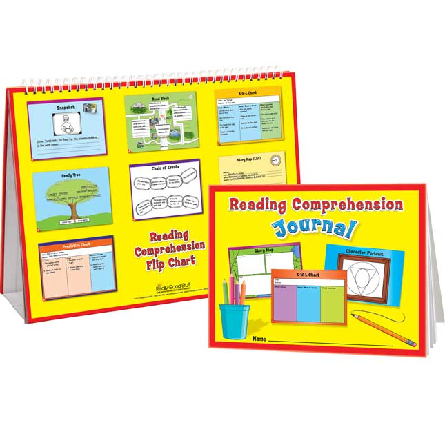 Reading Comprehension Flip Chart And Journals Kit