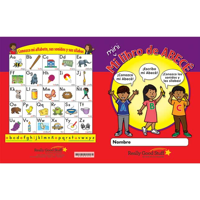 My Mini ABC Books - Spanish - 24 activity books
