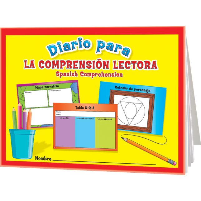 Diario para la comprensión lectora (Spanish Reading Comprehension Journals) - 12 journals
